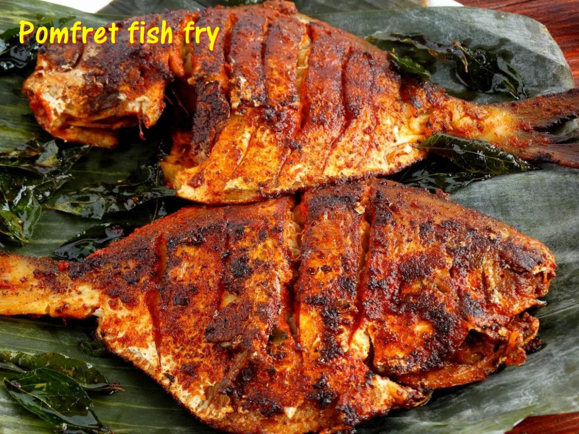 Pomfret fish fry - Recipes Fish Fry
