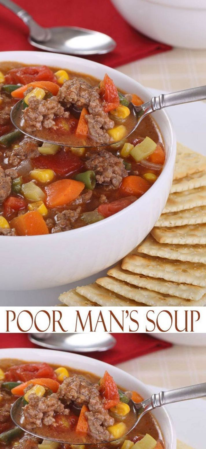Poor Man's Soup - Soup Recipes Easy And Cheap