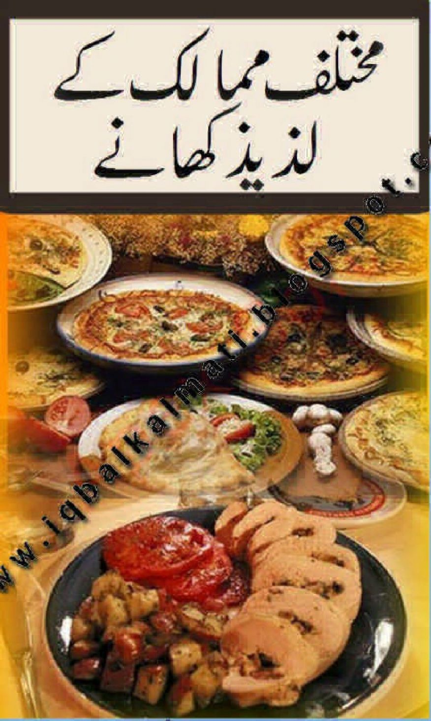 Popular Delicious Food Recipes Of Different Countries in Urdu by ..