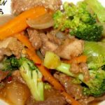 PORK BROCCOLI OYSTER SAUCE: Asian Americas Dinners – Recipe Pork Oyster Sauce