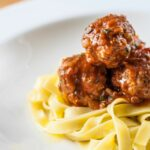 Pork Meatballs With Tagliatelle – Recipes Pork Mince Meatballs