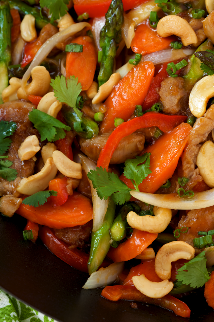 Pork Tenderloin & Cashew Stir Fry - Recipes Pork Fillet Stir Fry