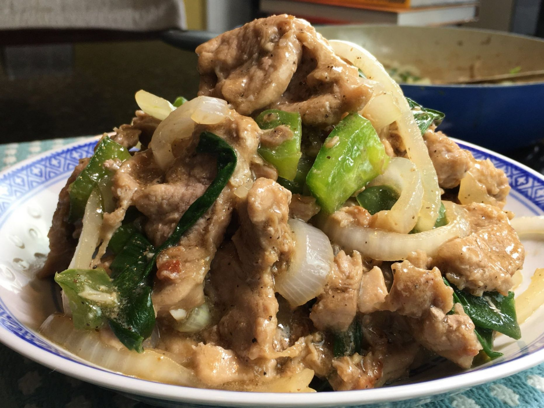 Pork with Oyster Sauce - Chef Ron Bilaro - Recipe Pork Oyster Sauce