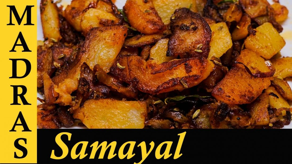 Potato Fry in Tamil | Potato Poriyal | Urulai Kizhangu Varuval | Potato  Recipes in Tamil - Potato Recipes In Tamil