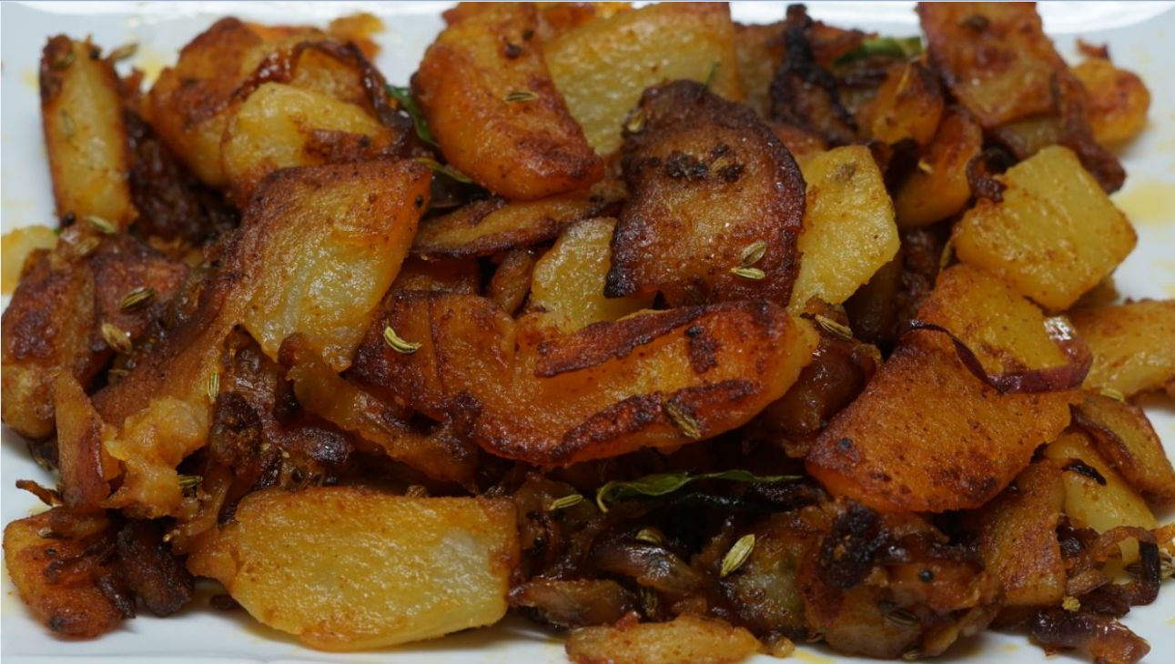 Potato Fry Recipe - Potato Recipes In Tamil