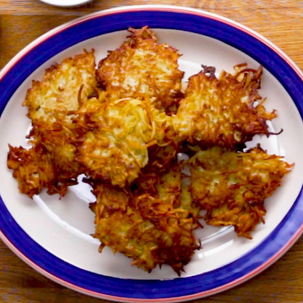 Potato Latkes Recipe by Tasty - Recipes Potato Pancakes