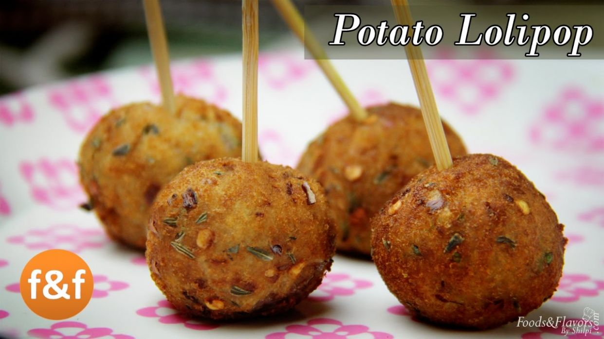 Potato Lollipop Recipe - Easy evening tea snacks recipes / Veg Party  starters appetizer dish ideas - Recipes Vegetarian Indian Snacks