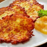 Potato Pancakes (German Kartoffelpuffer) – Recipes Potato Pancakes