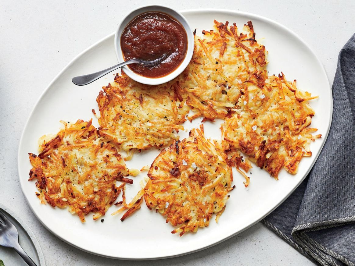 Potato Pancakes With Apple Butter - Recipes Potato Pancakes