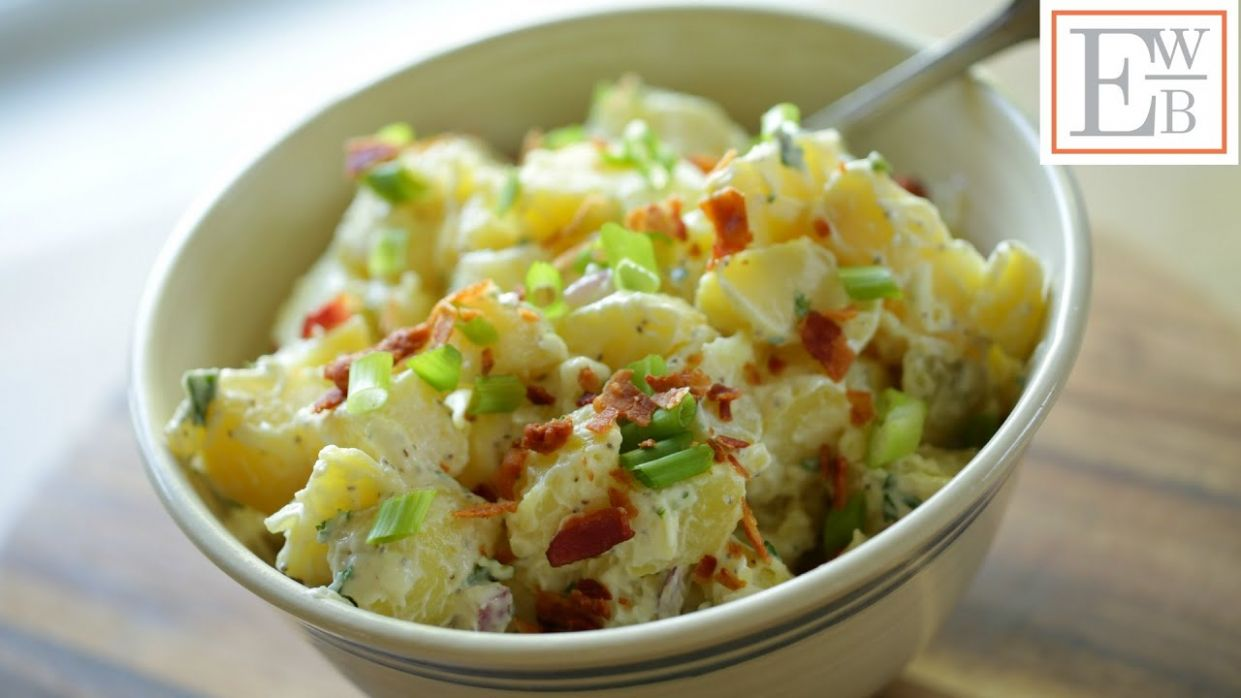 Potato Salad with and without Mayonnaise - Recipes Potato Salad Without Mayonnaise