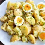 Potato Salad With Soft Boiled Eggs And Maple Mustard Dressing – Recipes Potato Salad With Eggs