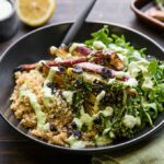 Power Bowl With Roasted Japanese Sweet Potato And Herb Almond Sauce – Sweet Potato Recipes Japanese