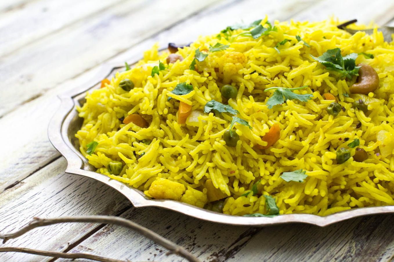 Pulao (Indian Rice Pilaf) - Recipes Rice For Pulao