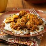 Pumpkin Curry Chicken Over Cashew Rice – Recipes Over Rice