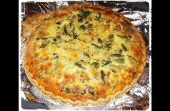 quiche recipe - easy - jamie oliver - gordon ramsay - vegetarian - indian -  cheese spinach