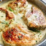 Quick & Easy Creamy Herb Chicken - Cafe Delites
