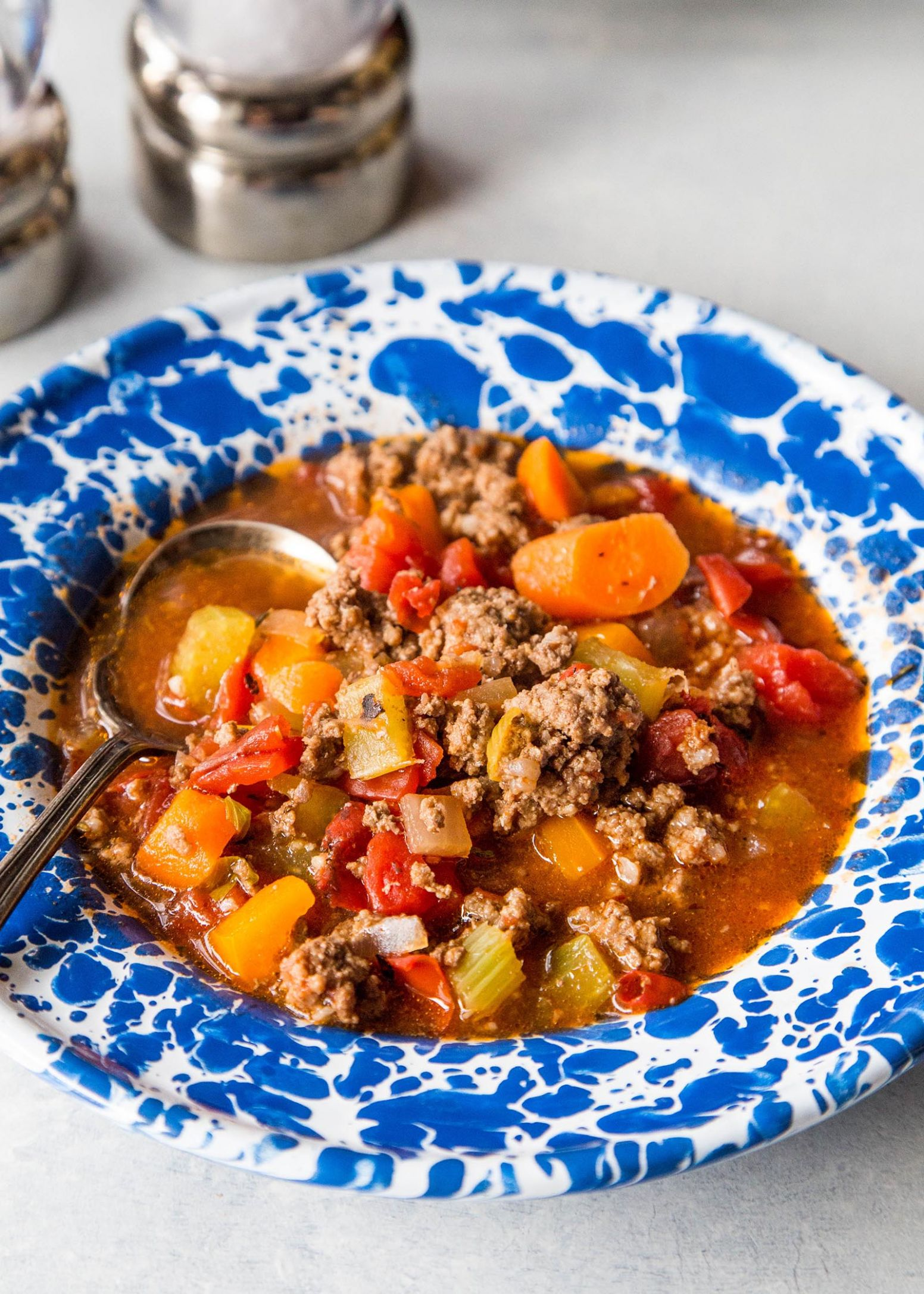 Quick & Easy Hamburger Soup - Recipes Soup With Ground Beef