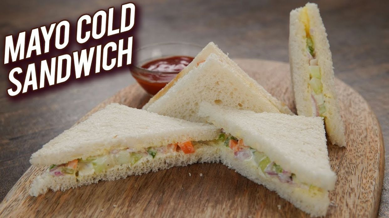 Quick & Easy Sandwich Recipe - Mayonnaise Cold Sandwich Recipe - Veg Mayo  Sandwich - Bhumika - Sandwich Recipes With Mayonnaise