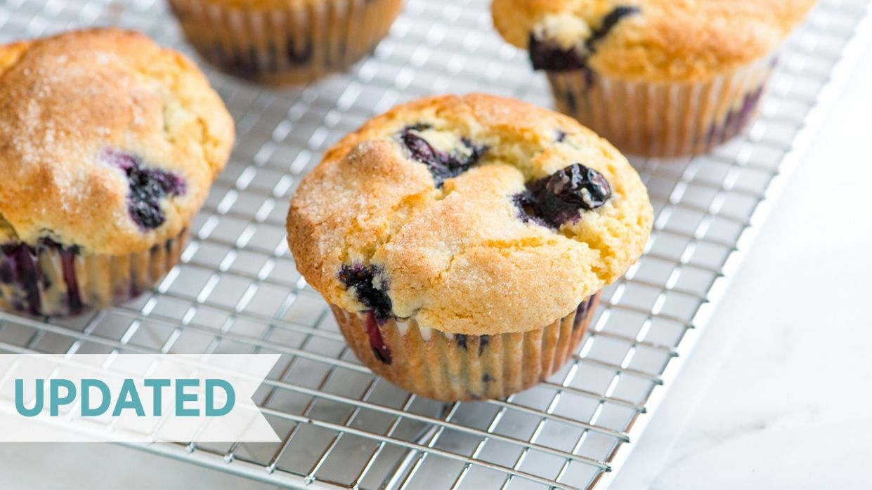 Quick and Easy Blueberry Muffins - Blueberry Recipes Dessert Quick