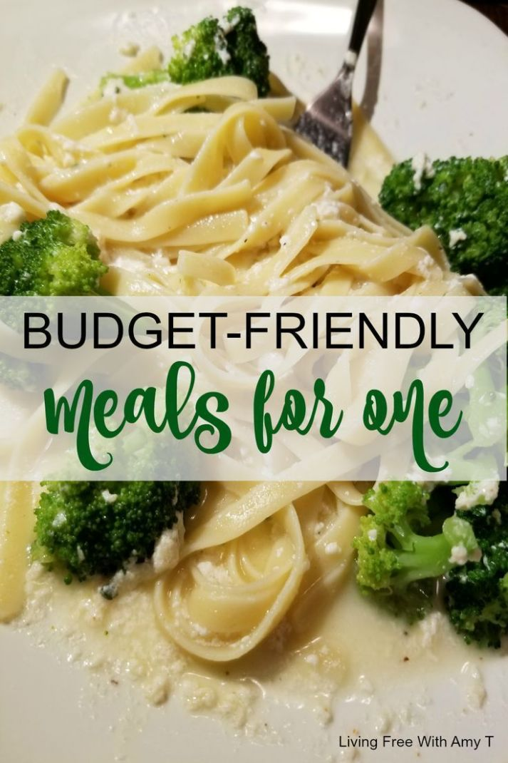 Quick and Easy Budget-Friendly Dinner Recipes for One Person ..