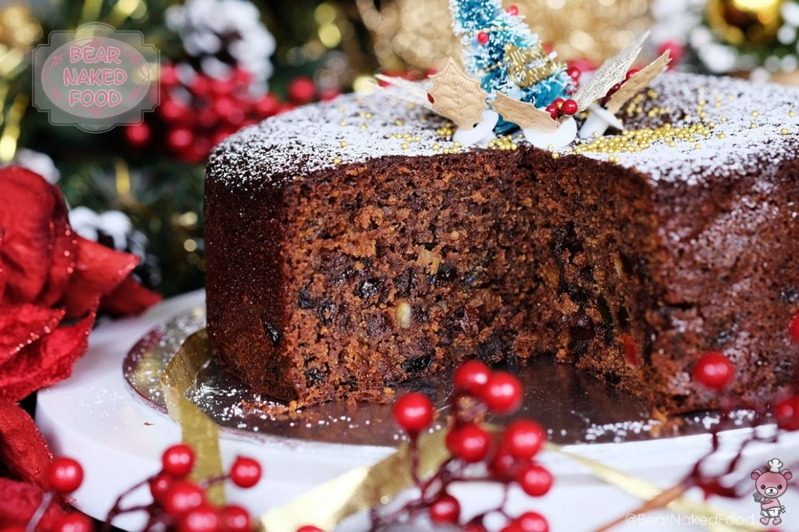 Quick and Easy Christmas Fruit Cake - Recipes Cakes For Christmas