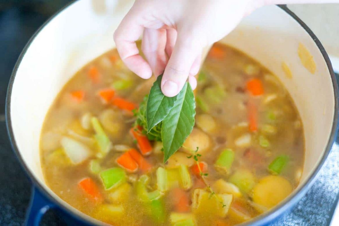 Quick and Easy Creamy Vegetable Soup - Recipes With Vegetable Stock