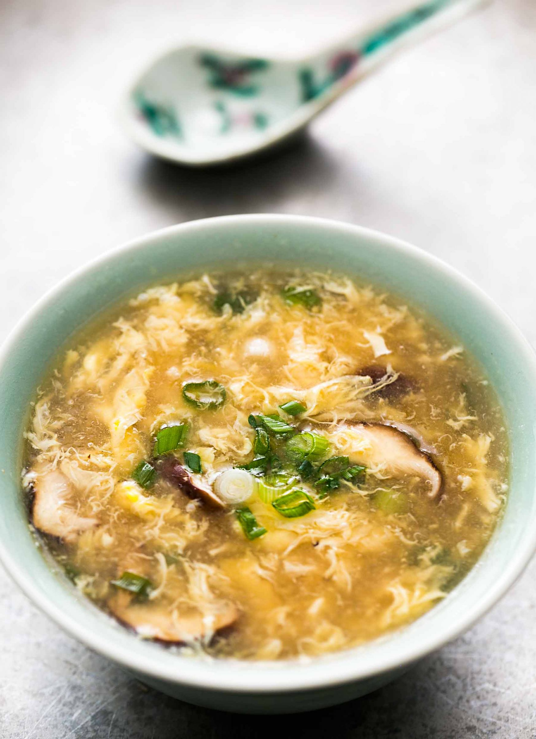 Quick and Easy Egg Drop Soup - Recipe Easy Egg Drop Soup