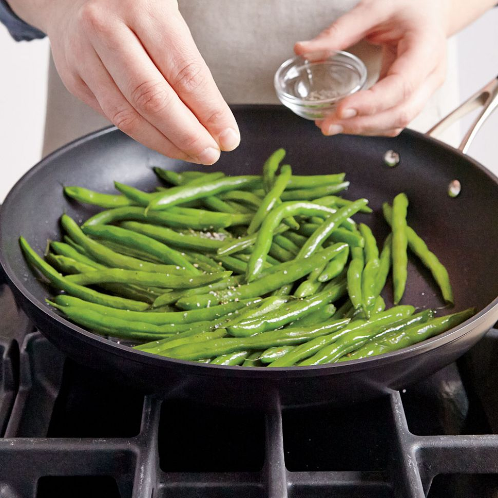 Quick and Easy Green Beans Recipe | MyRecipes - Recipes Cooking Fresh Green Beans