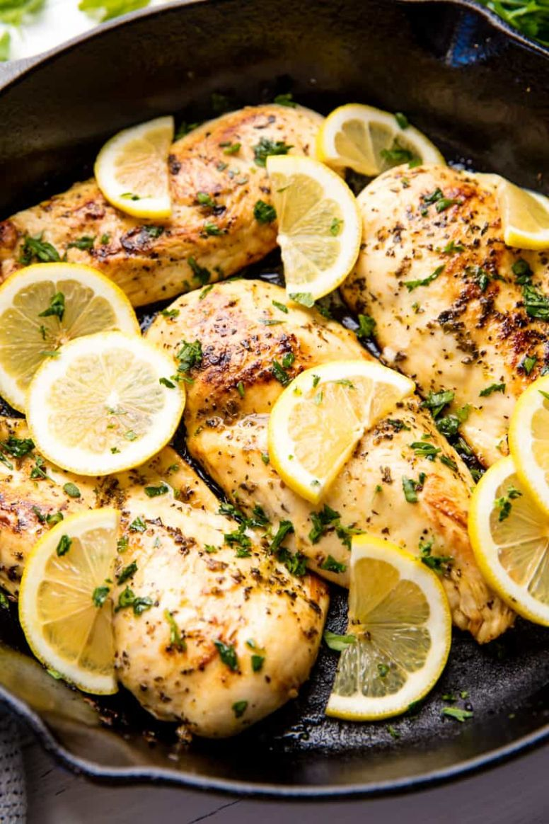 Quick and Easy Lemon Chicken - Easy Recipes With Chicken Breast
