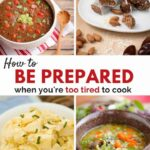 Quick And Easy Meals For When You're Pregnant Or Have A Newborn – Healthy Recipes In Pregnancy