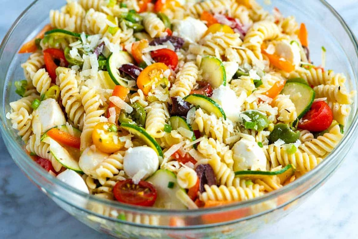 Quick and Easy Pasta Salad - Salad Recipes Simple