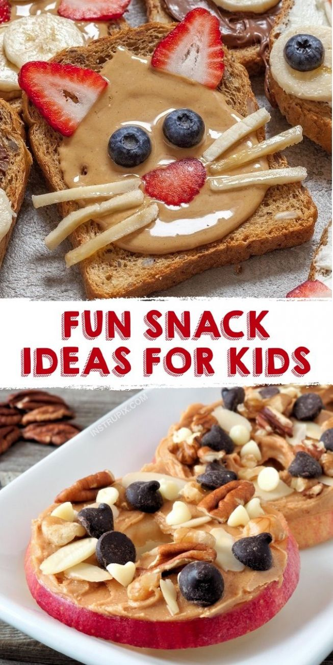 Quick and Easy Snack Ideas For Kids (healthy & fun!)