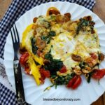 Quick And Healthy Egg And Veggie Skillet Breakfast – Breakfast Recipes Quick