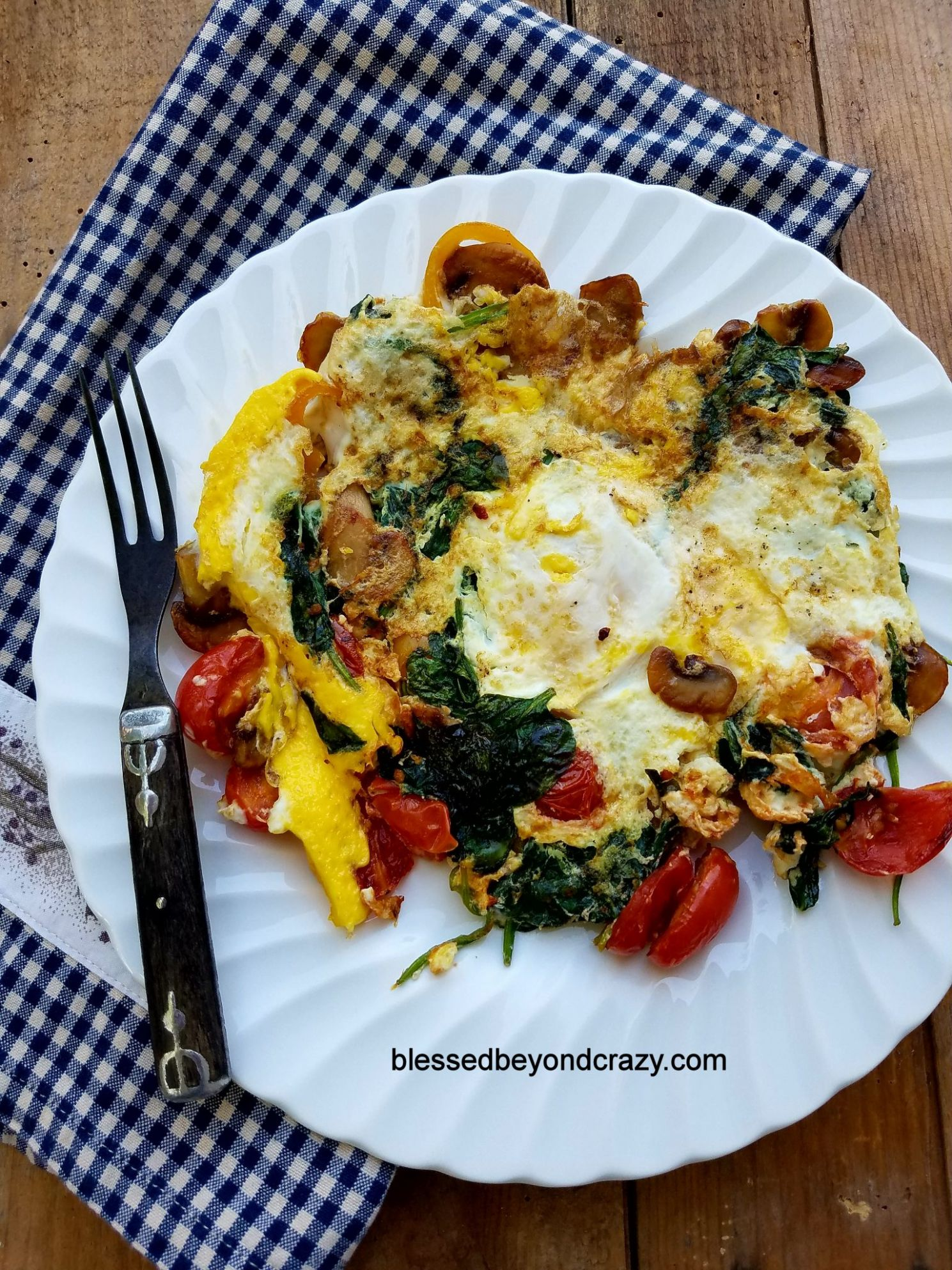 Quick and Healthy Egg and Veggie Skillet Breakfast - Breakfast Recipes Quick