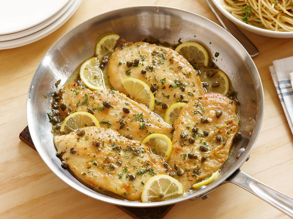 Quick and Simple Chicken Piccata - Simple Recipes Chicken