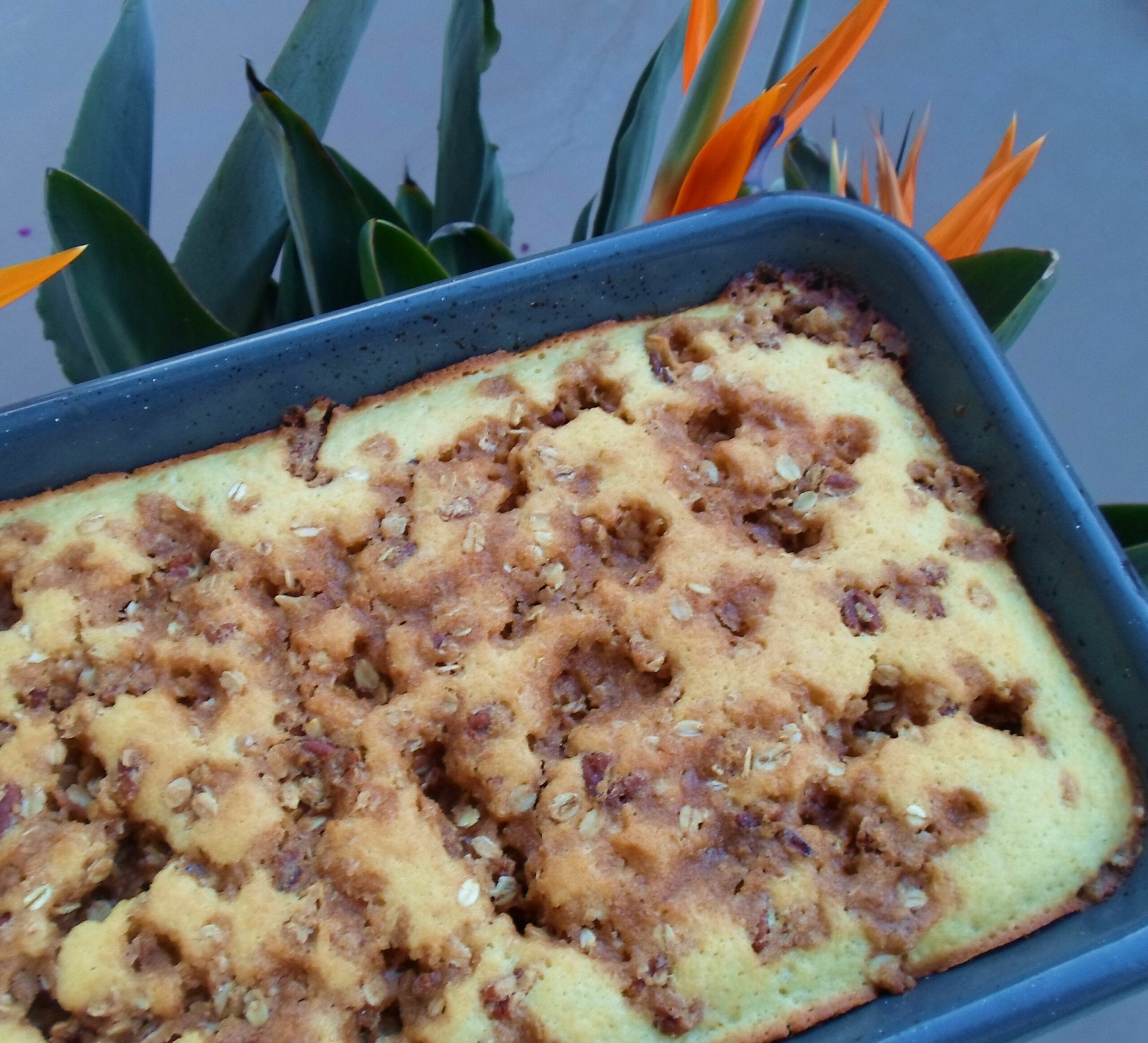 Quick Buttery Coffee Cake (made with Pancake Mix)   We Laugh, We ..