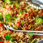 Quick Chicken Ramen Noodle Stir Fry – Simple Recipes Ramen Noodles