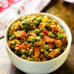 Quick Curried Veggie Brown Rice Bowls – Healthy Recipes Indian Veg
