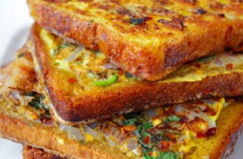 Quick Masala French Toast
