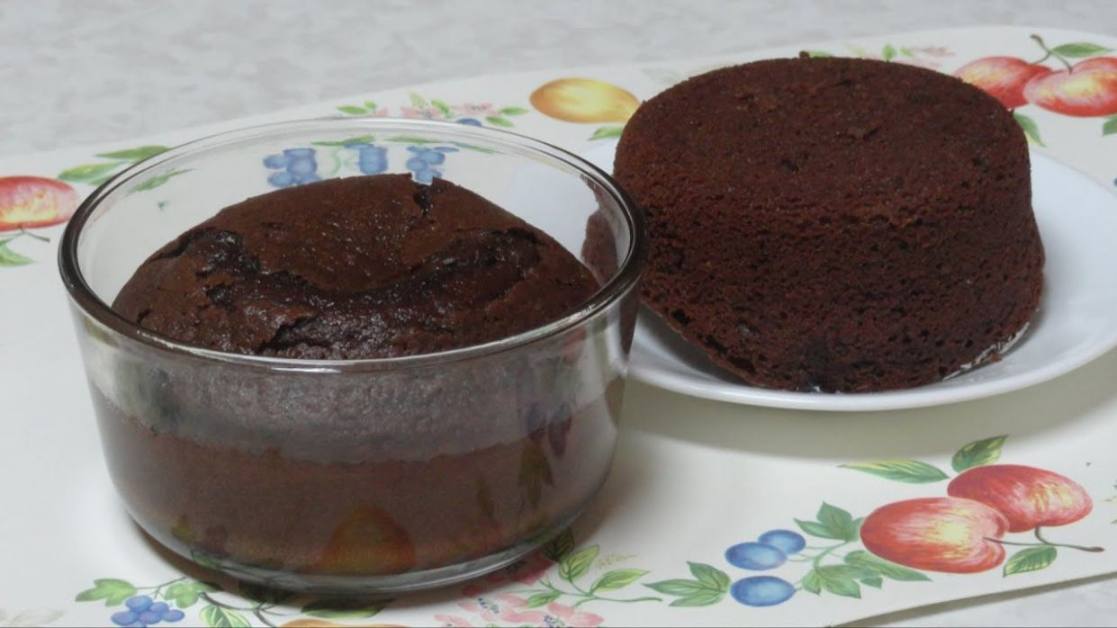Quick Microwave Cake Video Recipe for Bachelors by Bhavna - Cake Recipes Microwave
