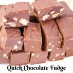 Quick Microwave Chocolate Fudge With Condensed Milk – Recipes Dessert Condensed Milk