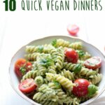 Quick Vegan Pesto Pasta – Vegan Recipes Quick