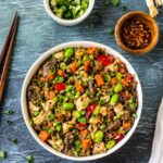 "Quinoa Fried ""Rice"" With Chicken And Vegetables – Recipes Chicken Quinoa"