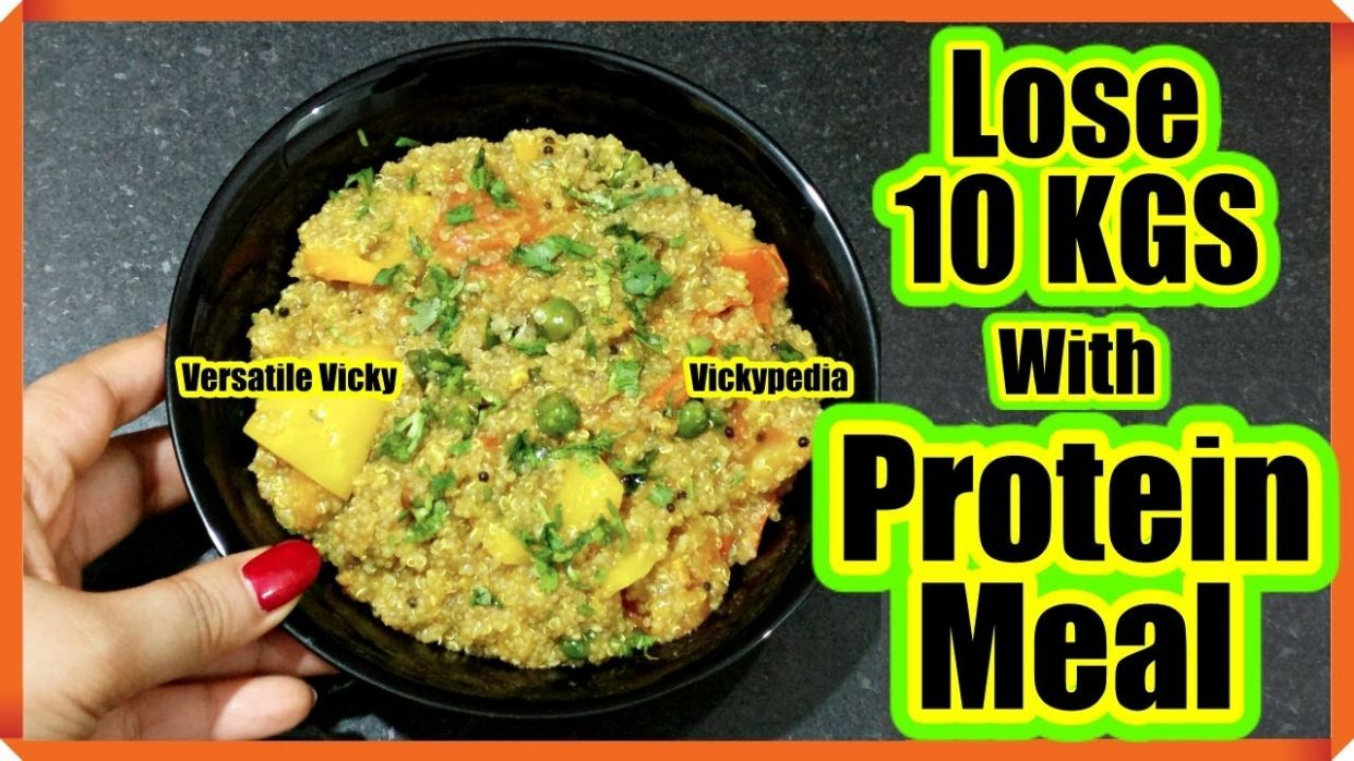 Quinoa Recipes For Weight Loss | Lose 9 Kgs in 9 Days | Indian Quinoa  Homestyle Breakfast Recipe - Weight Loss Lunch Recipes Indian