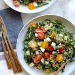 Quinoa Salad With Cherry Tomatoes And Cucumbers – Summer Recipes With Quinoa