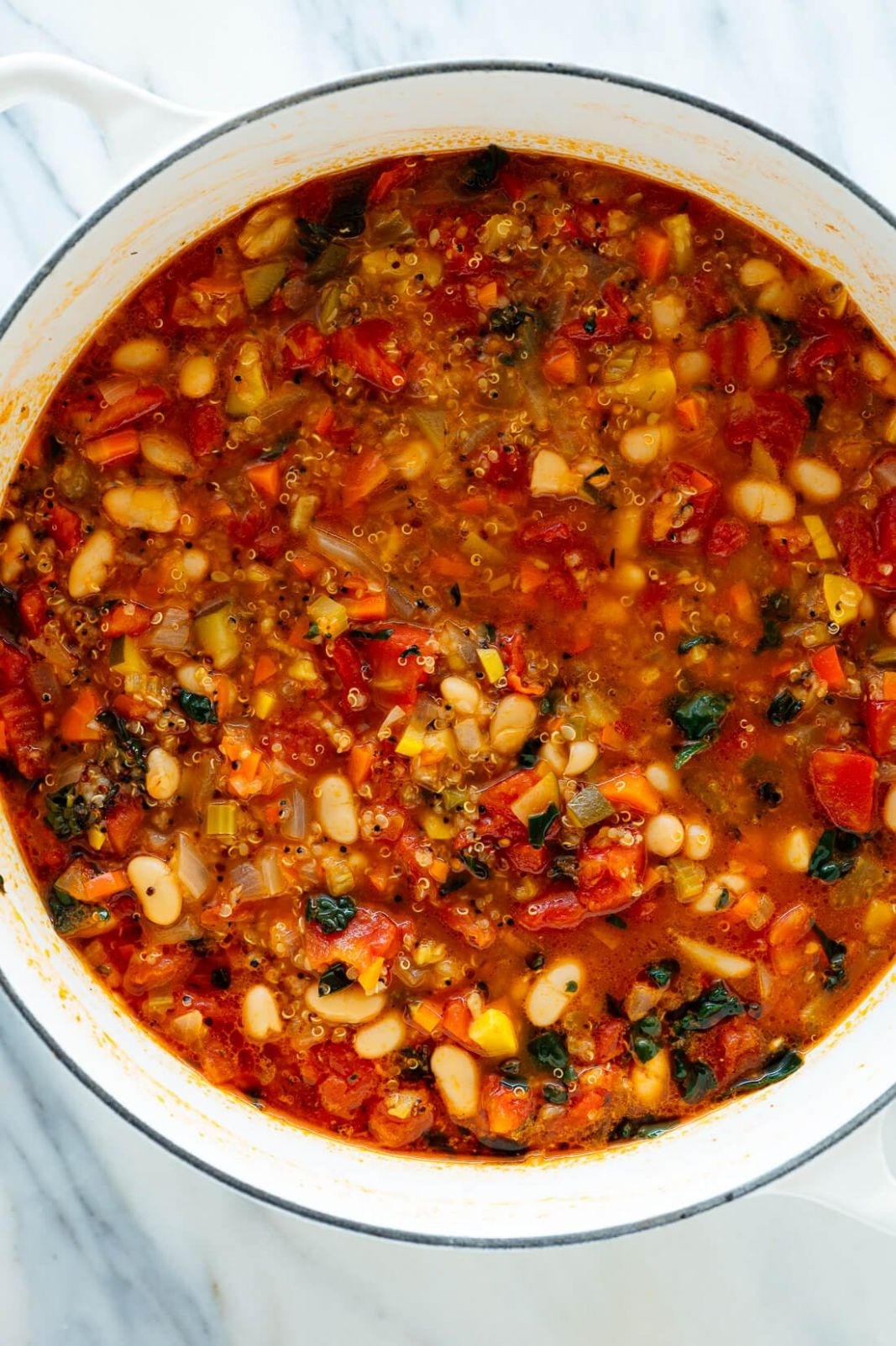 Quinoa Vegetable Soup Recipe - Cookie and Kate - Cooking Quinoa Soup