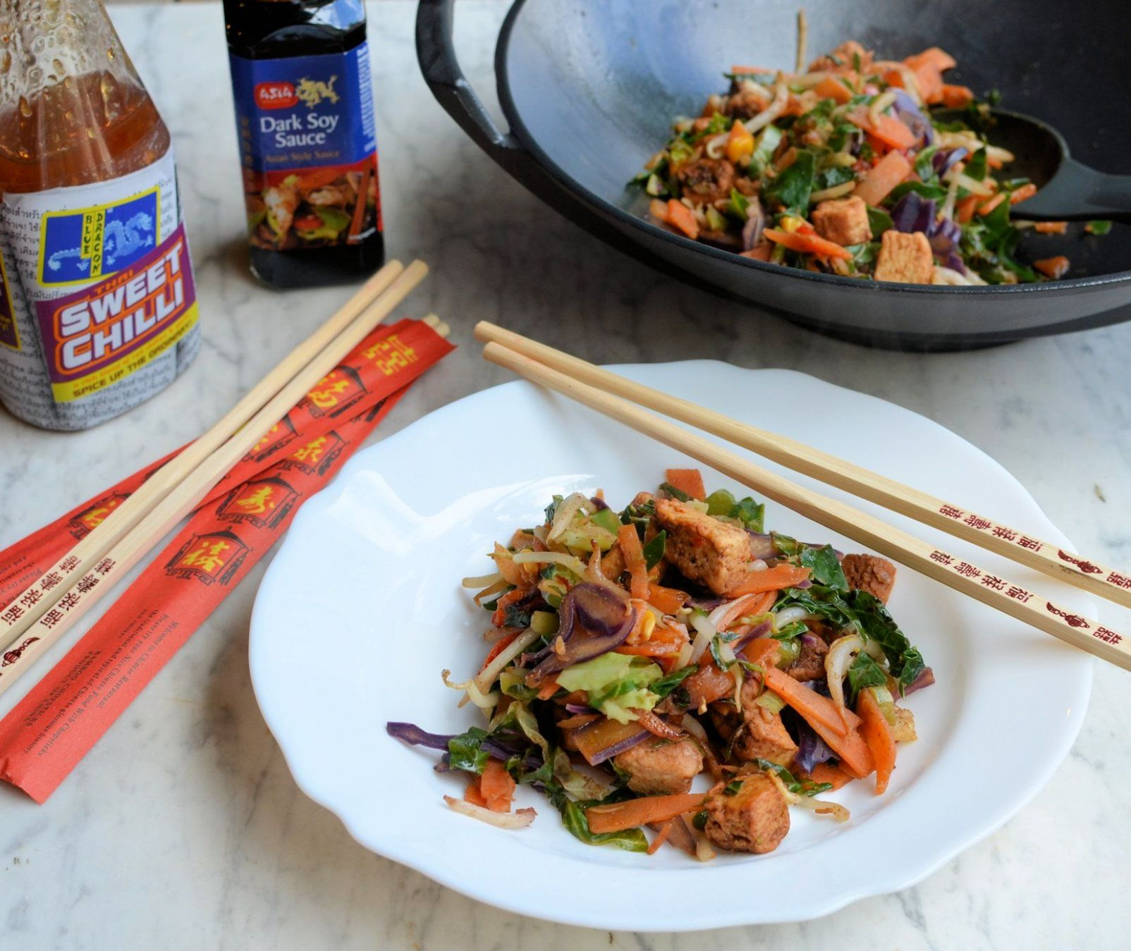 Rainbow Stir-Fry with Quorn - Quorn Recipes For Weight Loss