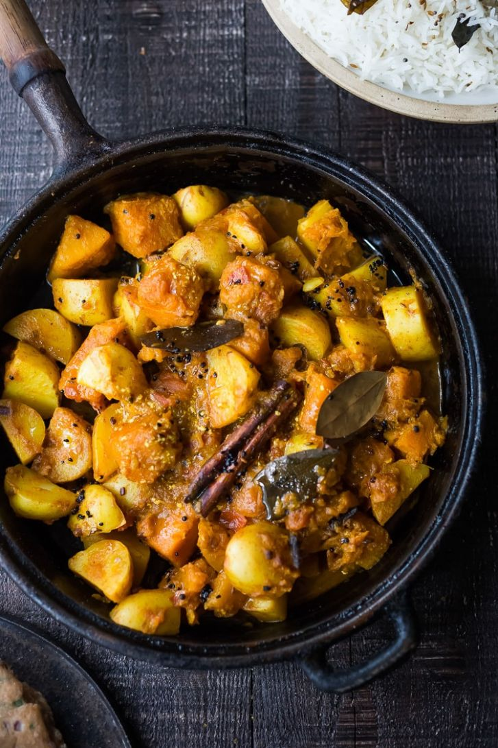 Rajasthani Butternut and Potato Curry - Recipes Potato Curry