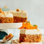Raw Carrot Cake With Vegan Cream Cheese Frosting – Simple Recipes Raw Food