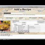 Recipe Collection Database: Adding A New Recipe – Food Recipes Database